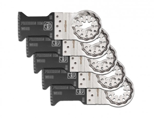 E-Cut Precision BIM-Sägeblatt 35 mm mit Starlock-Aufnahme | 5er Pack