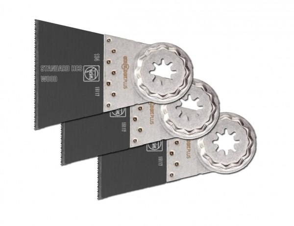 E-Cut Standard-Sägeblatt 65 mm mit Starlock-Aufnahme | 3er Pack