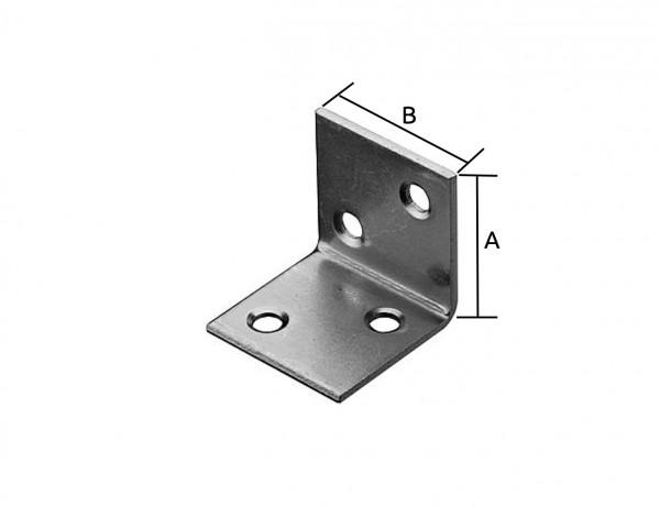 Breitwinkel | 40 x 40 mm | verzinkt