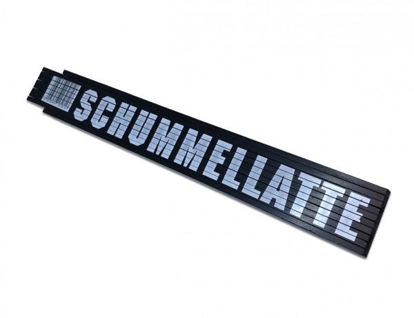 "Holz-Gliedermaßstab 2 Meter - Zollstock ""Schummellatte"""