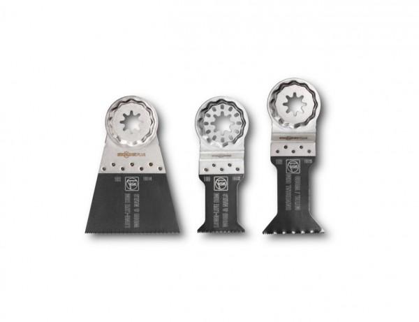 E-Cut Sägeblatt Combo mit Starlock-Aufnahme | 3er-Set