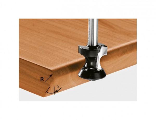 Abrund-/Fasefräser HW S8 D31,4/R6/45°
