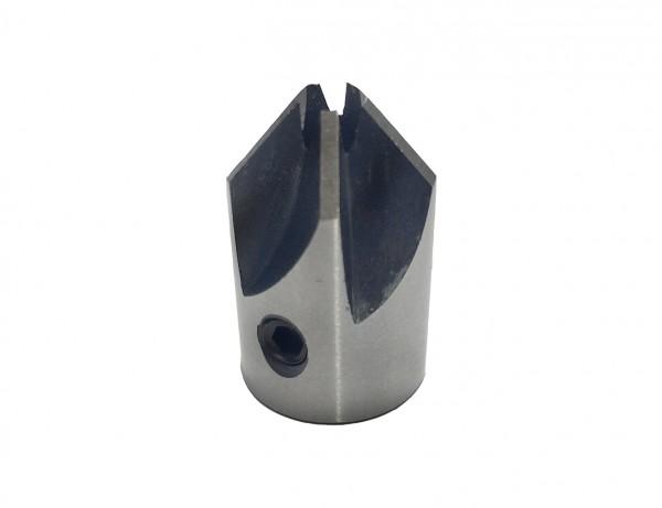 Aufstecksenker 90° für Holz inkl. Bohrer | 3-6 mm