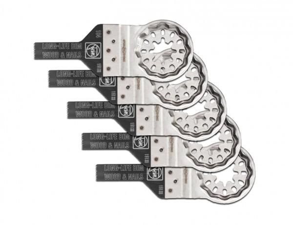 E-Cut Long-Life-Sägeblatt 10 mm mit Starlock-Aufnahme | 5er Pack