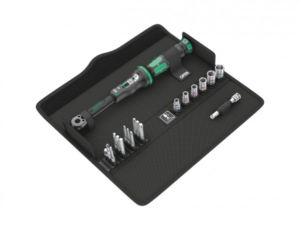 Drehmomentschlüssel Click-Torque A 6 Set 1 | 20-tlg. | ideal für die Montage an Fahrrädern und Motor