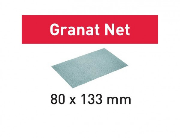Netzschleifmittel STF 80x133 P80 GR NET/50 Granat Net