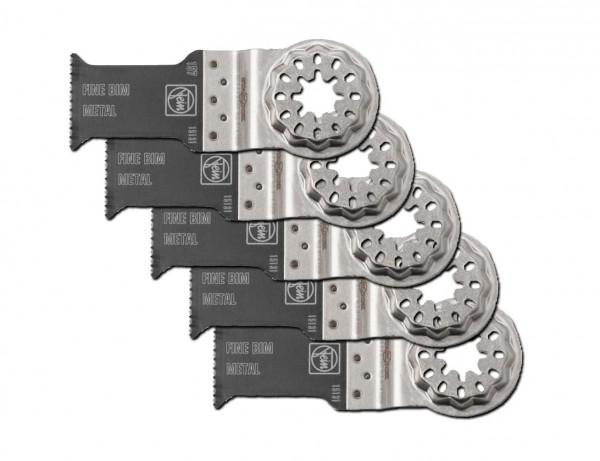 E-Cut Fine-Sägeblatt für Metall 35 mm mit Starlock-Aufnahme | 5er Pack