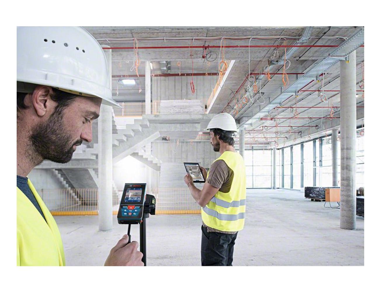 Bosch Entfernungsmesser Bluetooth : Laser entfernungsmesser glm 120 c mit integrierter kamera und