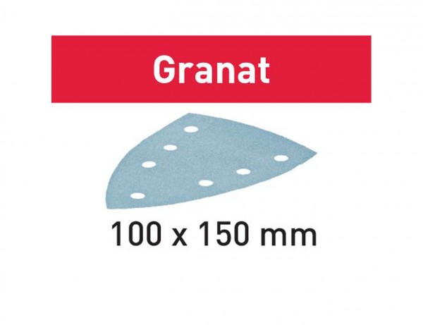 Schleifblatt STF DELTA/7 P120 GR/100 Granat