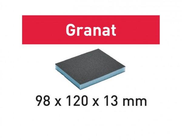 Schleifschwamm 98x120x13 220 GR/6 Granat