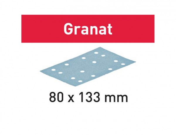 Schleifstreifen STF 80x133 P180 GR/10 Granat