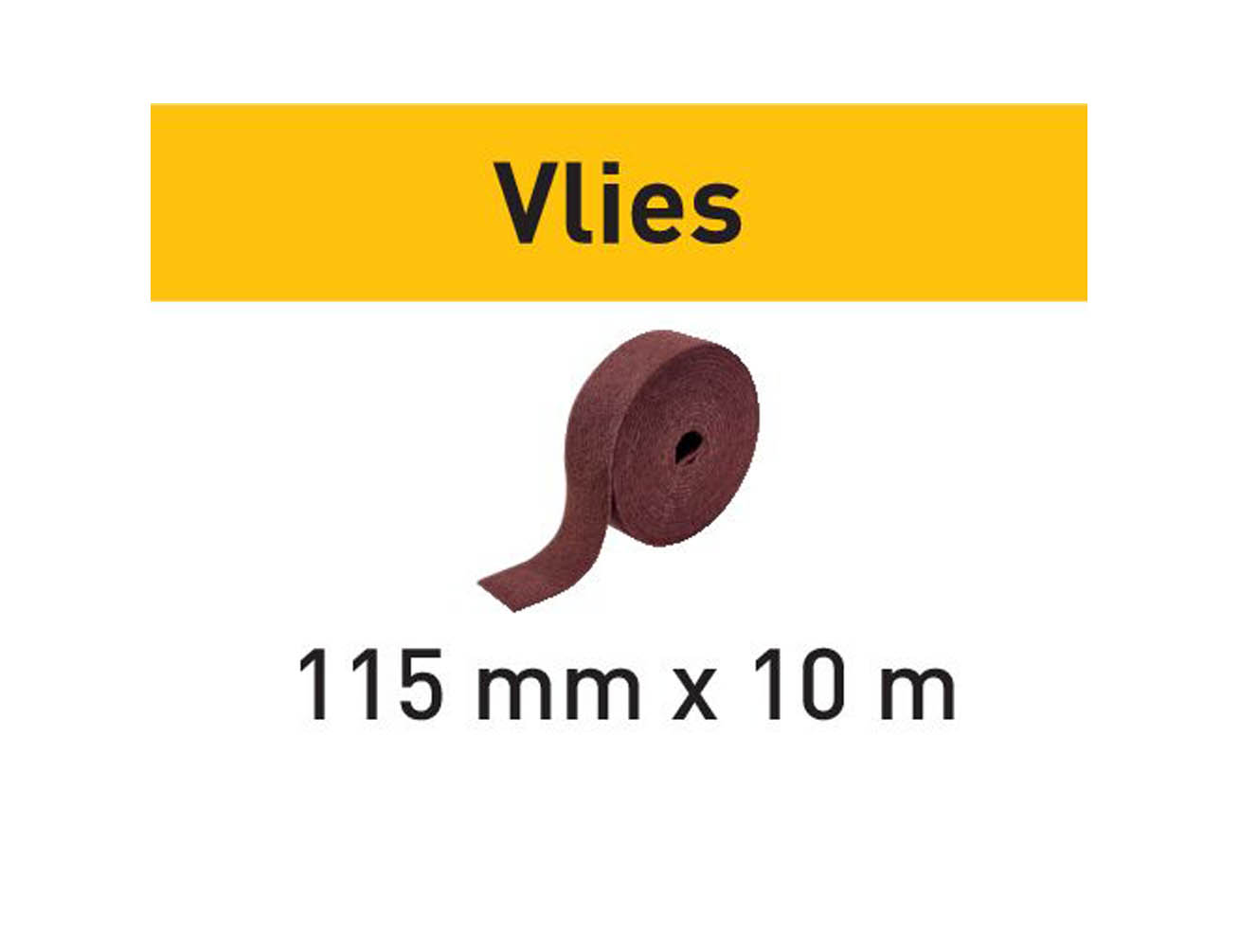 201117 Festool Schleifrolle 115x10m FN 320 VL Vlies