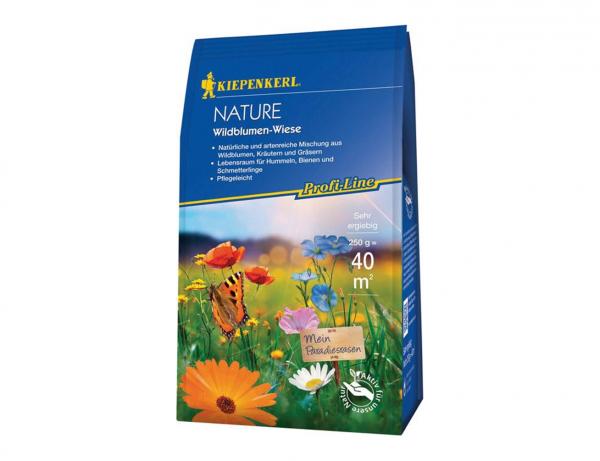 Wildblumen-Wiese 250 g | Profi-Line Nature | Ideal für Blühstreifen