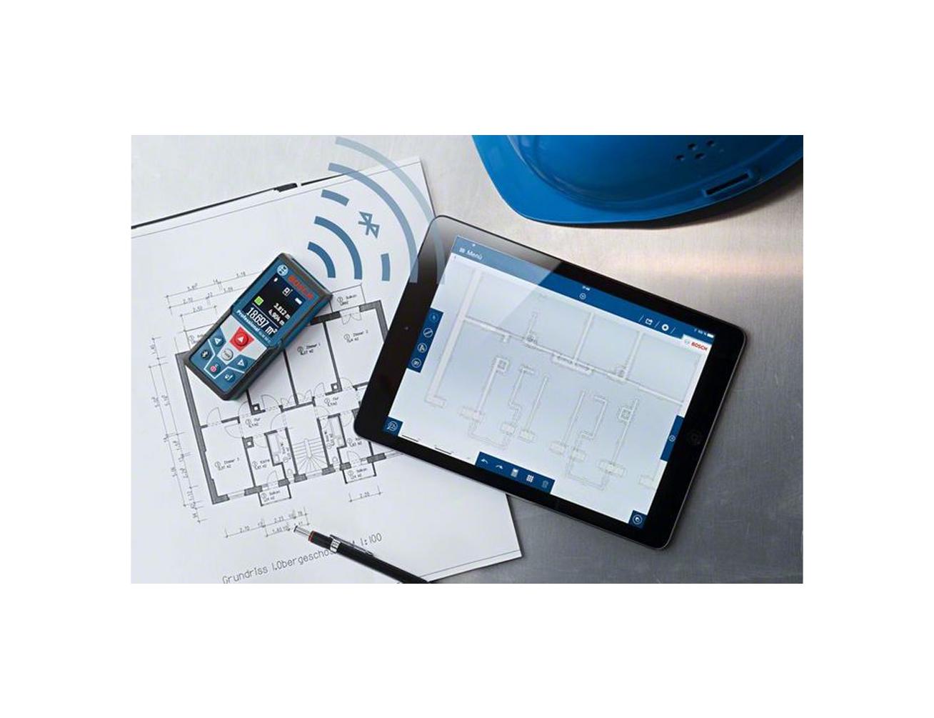 Bosch laserentfernungsmesser glm c connect mit bluetooth