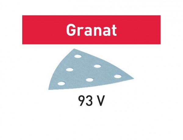 Schleifblatt STF V93/6 P320 GR/100 Granat