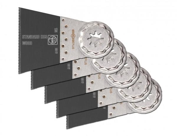 E-Cut Standard-Sägeblatt 65 mm mit Starlock-Aufnahme | 5er Pack