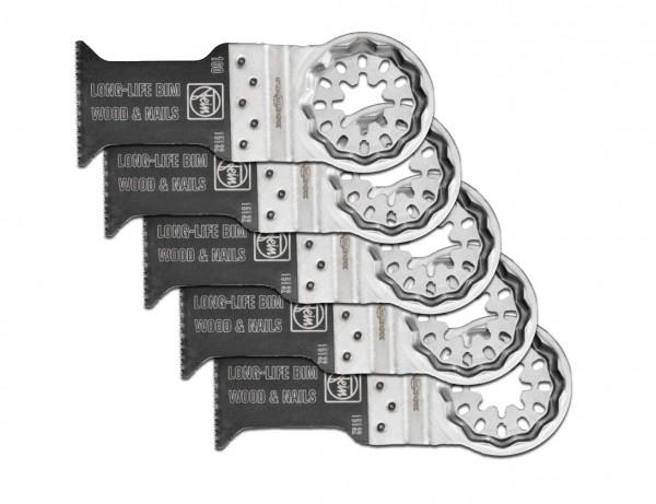 E-Cut Long-Life-Sägeblatt 35 mm mit Starlock-Aufnahme | 5er Pack