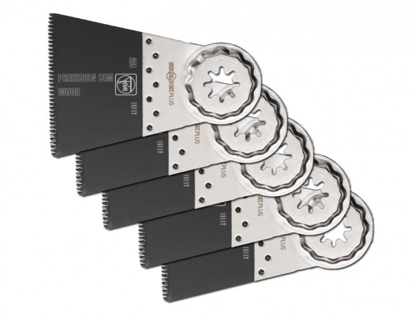 E-Cut Precision BIM-Sägeblatt 65 mm mit Starlock-Plus-Aufnahme | 5er Pack