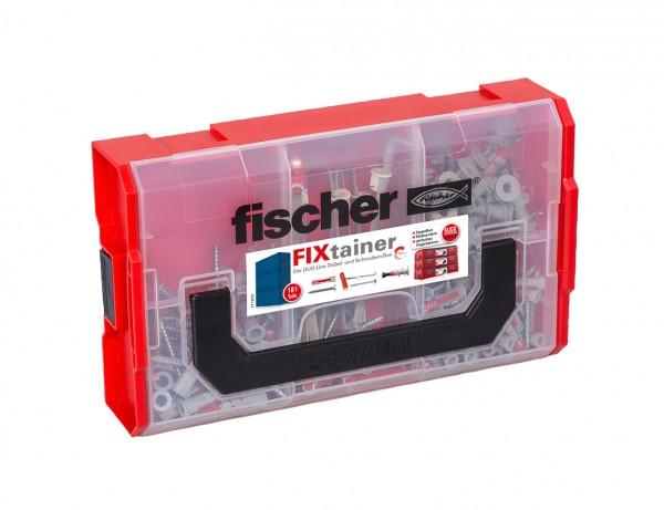 FIXtainer - DUO-Line Dübel- & Schrauben-Box | Gut ausgestattet mit DOUBLADE, DOUPOWER und DUOTEC