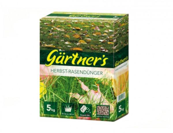 Herbst-Rasendünger, 5kg