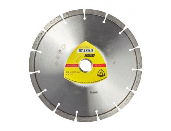 Diamant-Trennscheibe DT 350 U Extra für Baustellenmaterialien und Beton