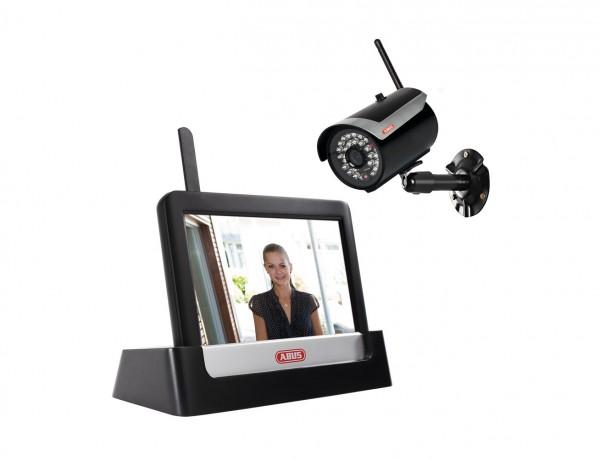 """Funk-Heim-Videoüberwachungsset Touch & App mit 7"""" Monitor"""