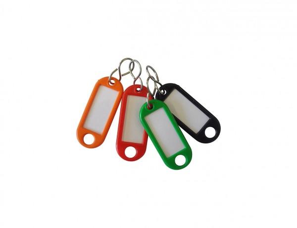 Schlüsselanhänger | verschiedene Farben | mit vernickelte S-Haken