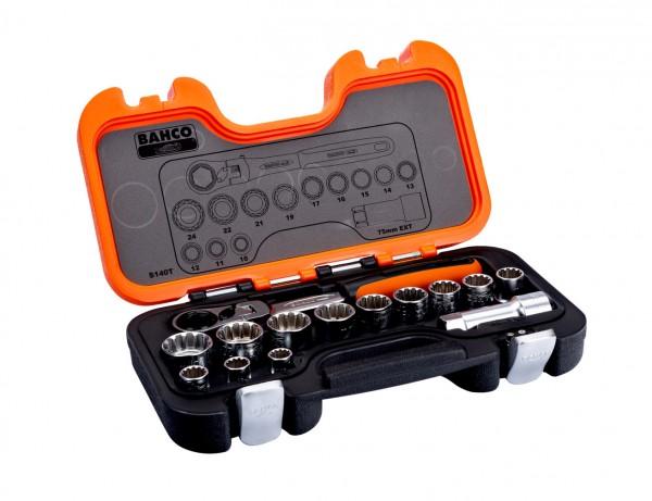 Durchsteck-Steckschlüsselsatz   14-teilig