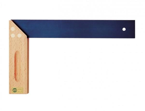 ECE Tischlerwinkel Typ 403 mit Gehrung | Griff aus Buchenholz mit Hohlkehle | 150-300 mm