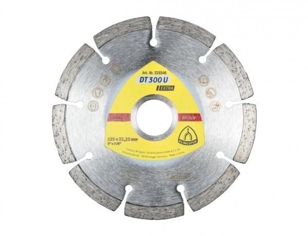 Diamant-Trennscheibe DT 300 U Extra für Baustellenmaterialien und Beton | Ø 115 mm