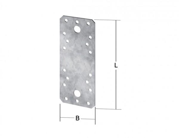 Flachverbinder | 180 x 40 mm | Verzinkt