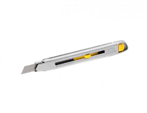 Cutter Interlock mit 9 mm Klinge | Druckgegossener Metall-Korpus