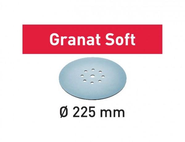 Schleifscheibe STF D225 P400 GR S/25 Granat Soft
