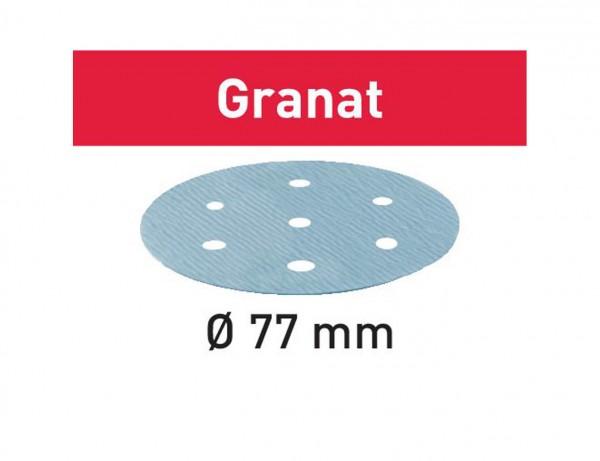 Schleifscheibe STF D77/6 P80 GR/50 Granat