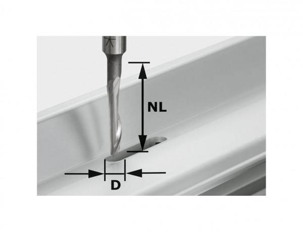 Aluminiumfräser HS S8 D5/NL23