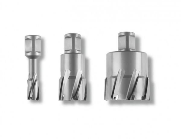 HM Ultra 35 Kernbohrer mit 3/4 inch/Zoll Weldon-Aufnahme | Bohrdurchmesser 12 - 60 mm | Hartmetall!