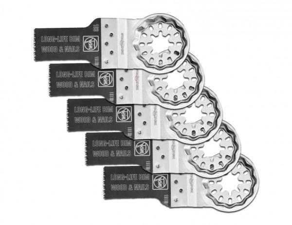 E-Cut Long-Life-Sägeblatt 20 mm mit Starlock-Aufnahme | 5er Pack