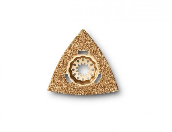 Hartmetall-Raspel Dreieickform mit Starlock-Aufnahme | 80 mm