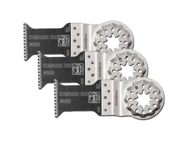 E-Cut Standard-Sägeblatt 35 mm mit Starlock-Aufnahme | 3er Pack