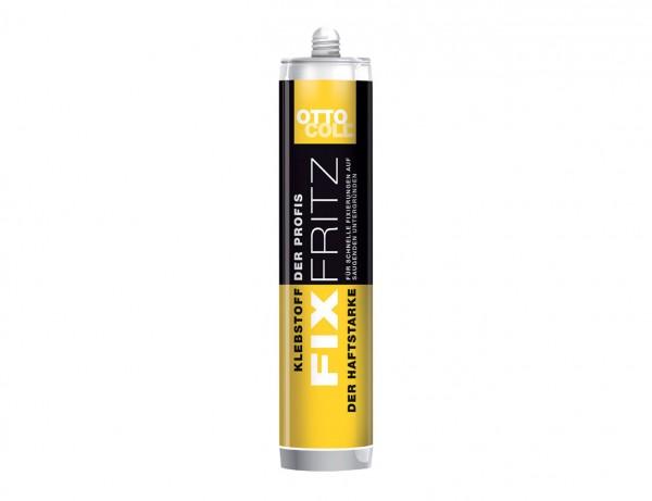 FIXFRITZ - Der Haftstarke | Dispersions-Klebstoff | extrem haftstarker Montageklebstoff