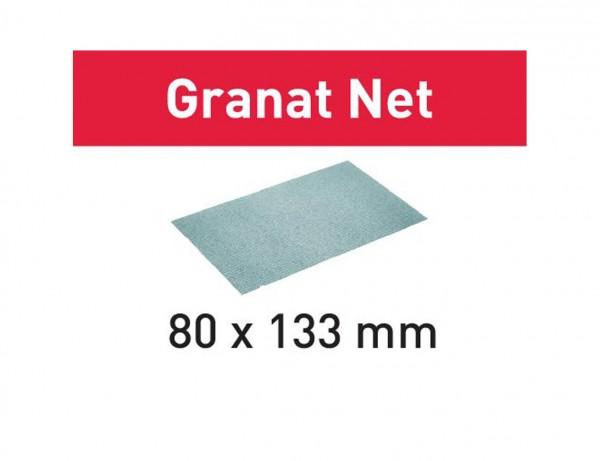 Netzschleifmittel STF 80x133 P320 GR NET/50 Granat Net
