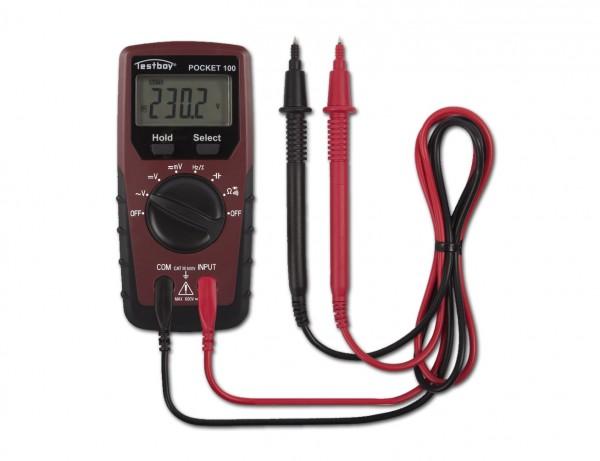 Digital-Multimeter Pocket 100 | Kompakte Bauform, viele Funktionen und einfache Bedienung