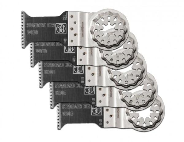 E-Cut Standard-Sägeblatt 35 mm mit Starlock-Aufnahme | 5er Pack