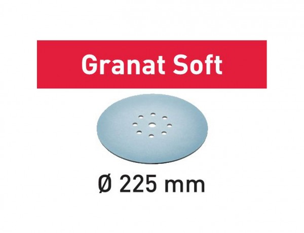 Schleifscheibe STF D225 P120 GR S/25 Granat Soft