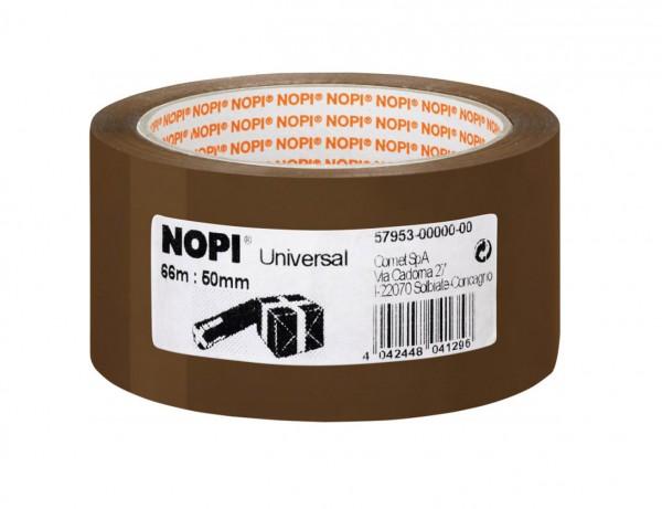 NOPI Packband Universal | 66 m x 50 mm | braun