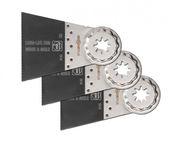 E-Cut Long-Life-Sägeblatt 65 mm mit Starlock-Plus-Aufnahme | 3er Pack