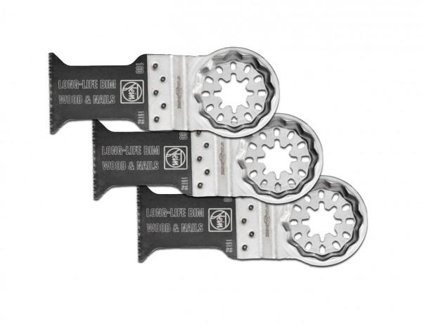 E-Cut Long-Life-Sägeblatt 35 mm mit Starlock-Aufnahme | 3er Pack