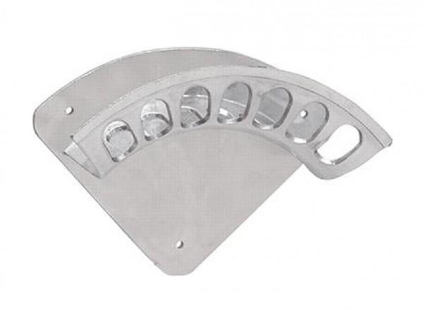 Wandschlauchhalter Aluminium