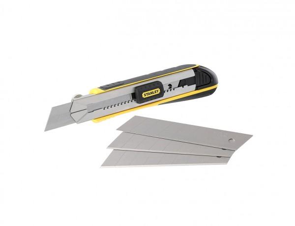 Cutter Fatmax mit 25 mm Klinge | inkl. 4 Abbrechklingen im Magazin