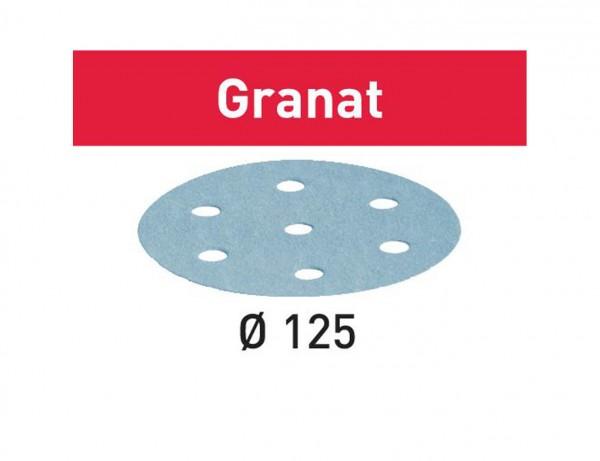 Schleifscheibe STF D125/8 P500 GR/100 Granat